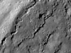 Waves of impact melt in Jackson crater