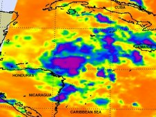 NASA's Aqua satellite passed over Tropical Storm Don at 8:17 UTC (4:17 a.m. EDT) on July 29.