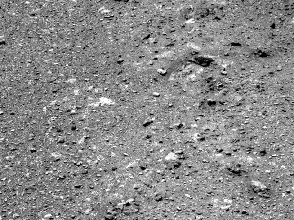Soil on Endeavour rim