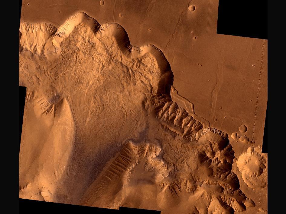 Ophir Chasma, Mars