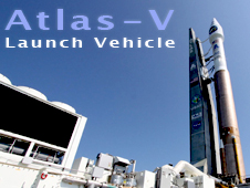 Atlas V rocket logo