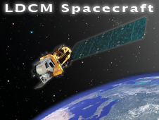 LDCM Spacecraft Logo