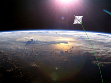 Image of solar sails.