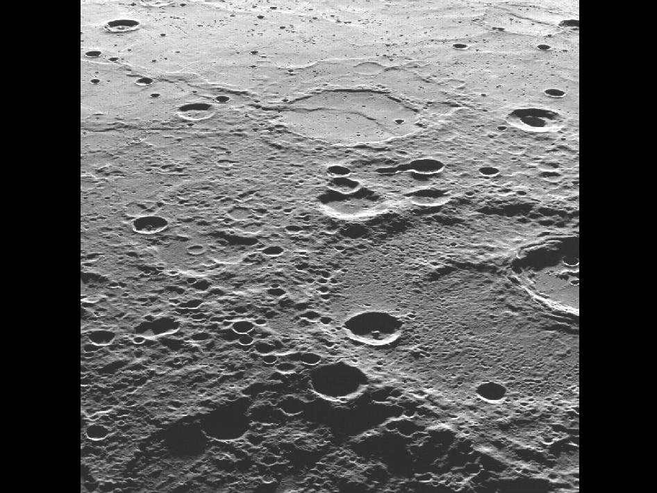 Image from Orbit of Mercury: A View Towards the Plains