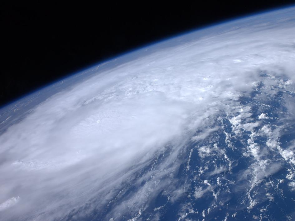 Hurricane Irene from space via NASA