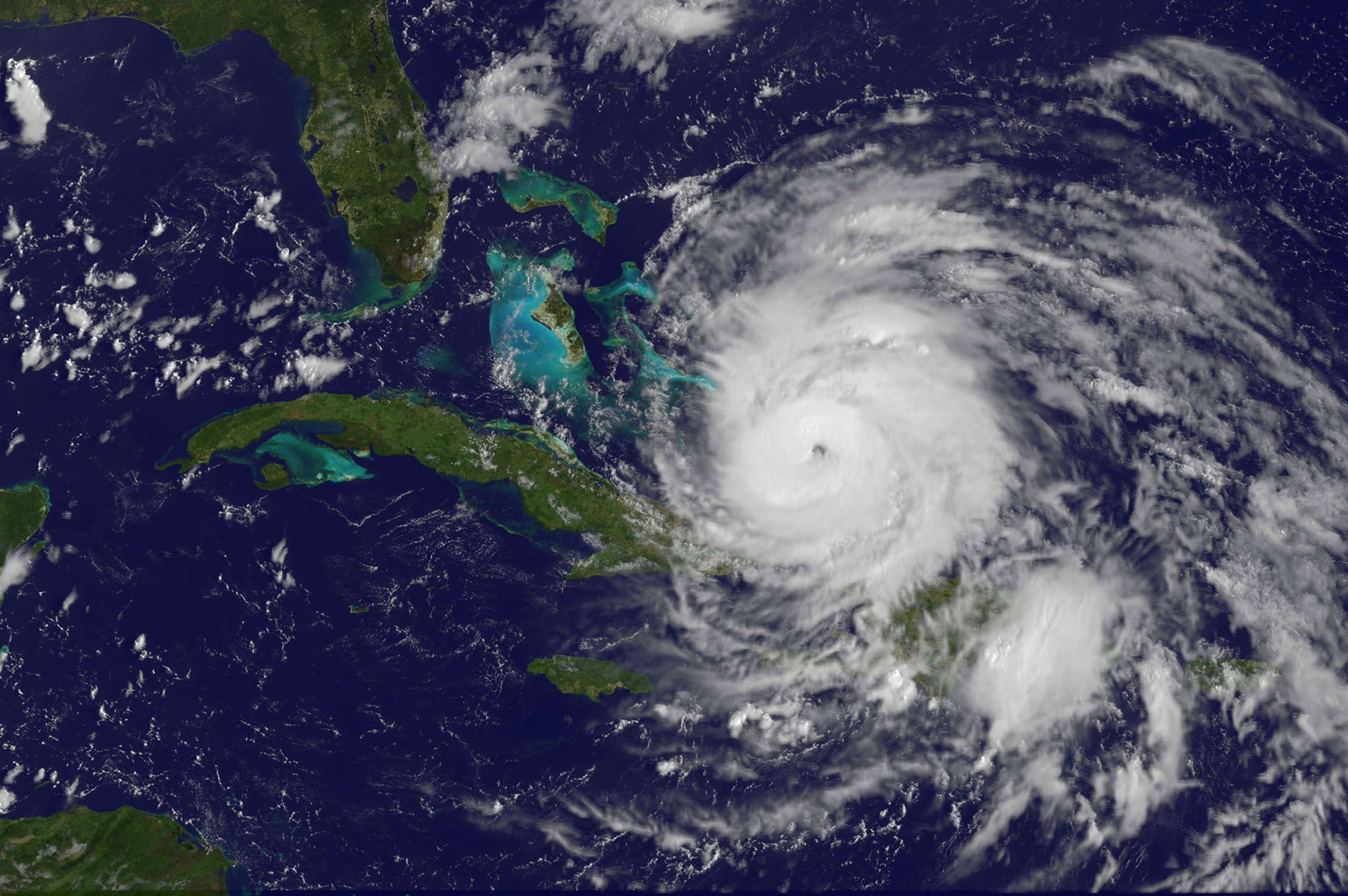 Hurricane Irene 8/24/11 midday