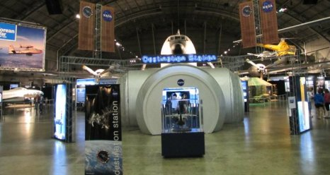 Destination Station Exhibit at Air Force Museum