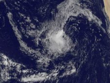 The GOES-13 satellite saw Tropical Depression 10 far in the eastern Atlantic on August 26, 2011 at 1045 a.m. EDT.