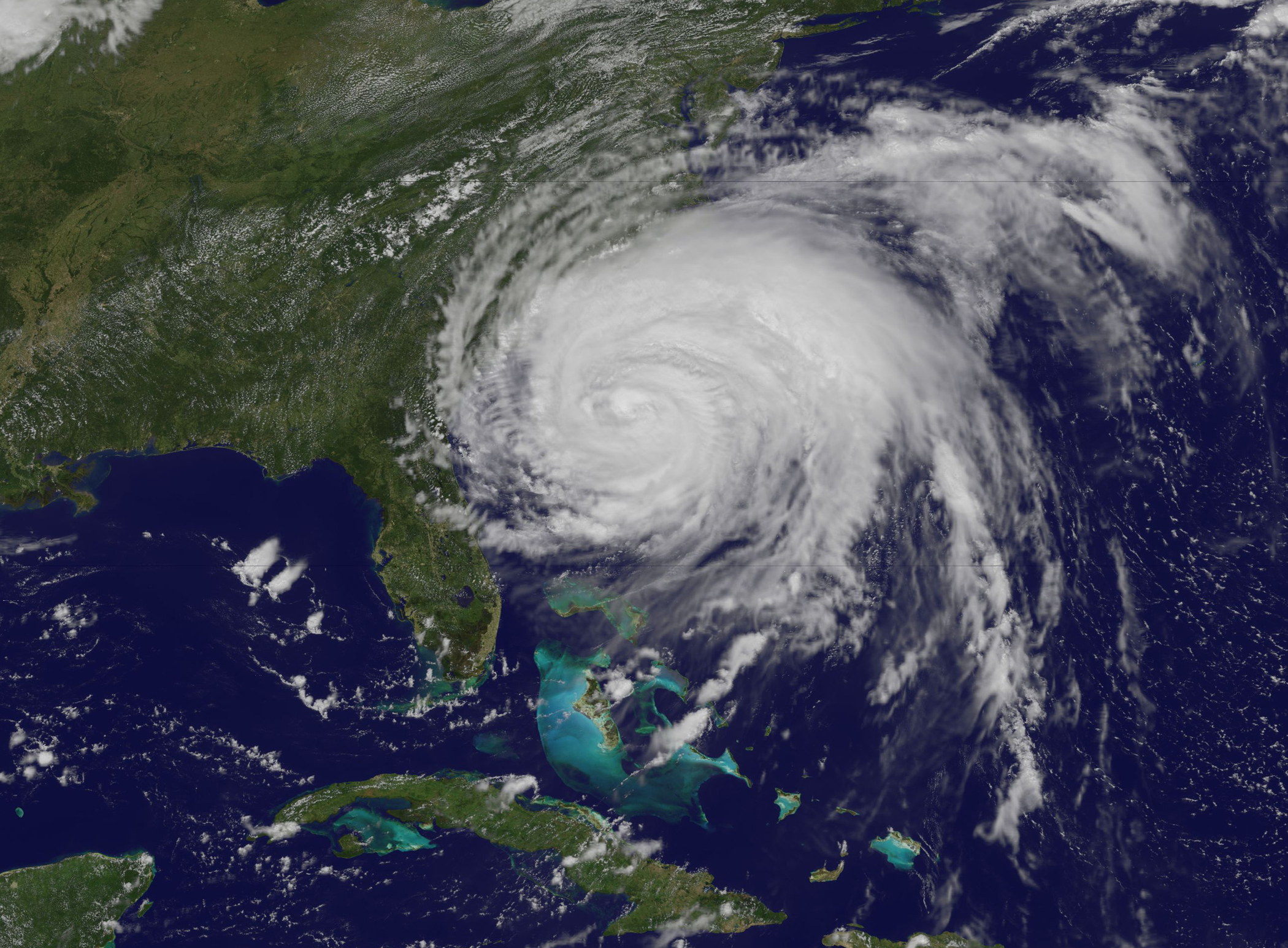 NASA - Hurricane Season 2011: Hurricane Irene (Atlantic Ocean)