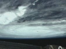 Hurricane Irene, seen from the International Space Station