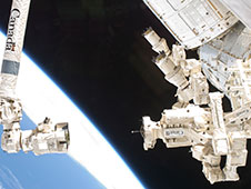 Dextre and the Canadarm2