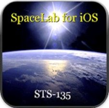 Icon for SpaceLab for iOS app. (Courtesy of Odyssey Space Research)