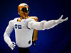 Robonaut extends flexible arm