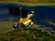 Artists impression of UARS satellite