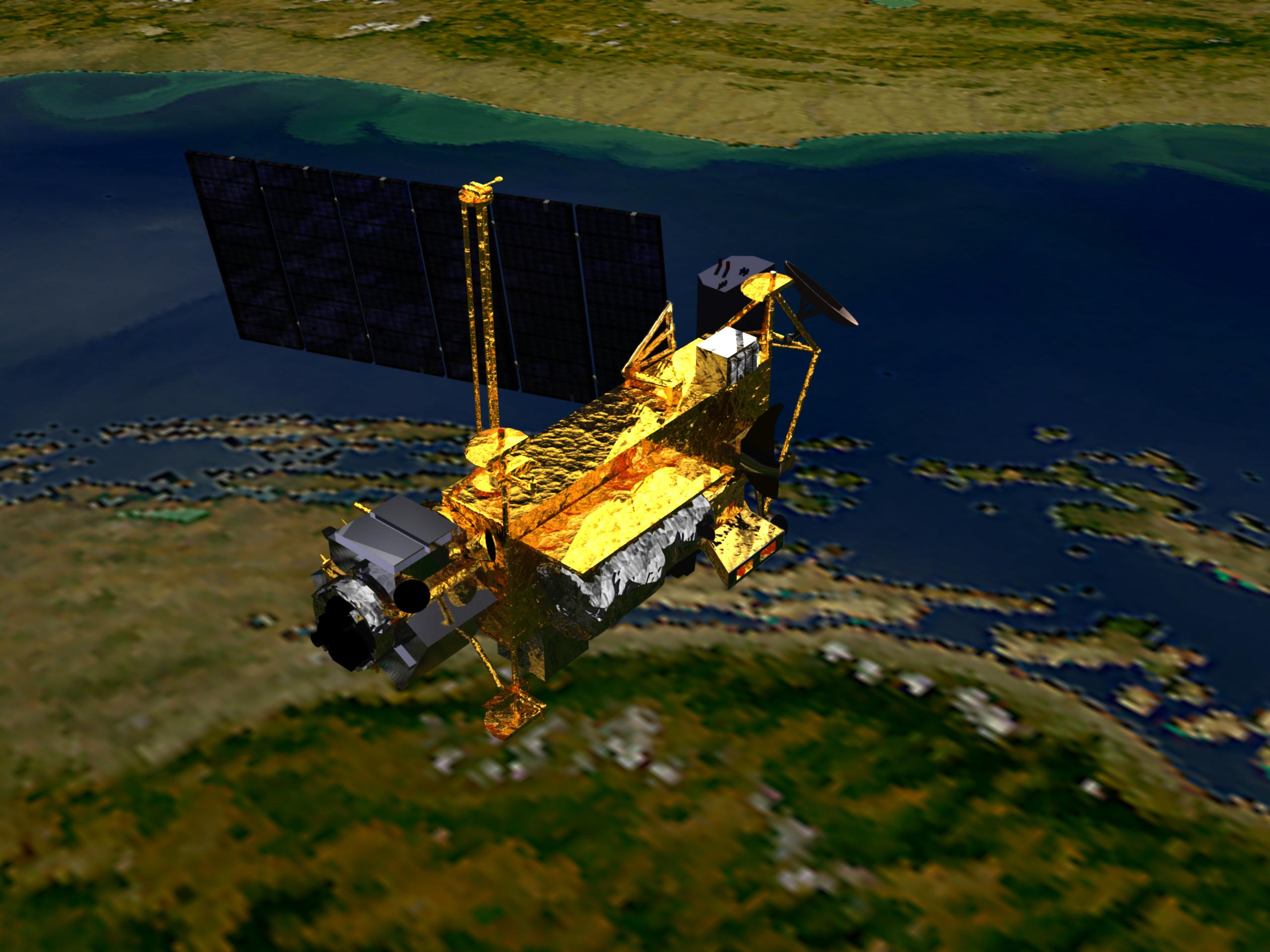 NASA - Solar Activity Can Affect Re-Entry of UARS Satellite
