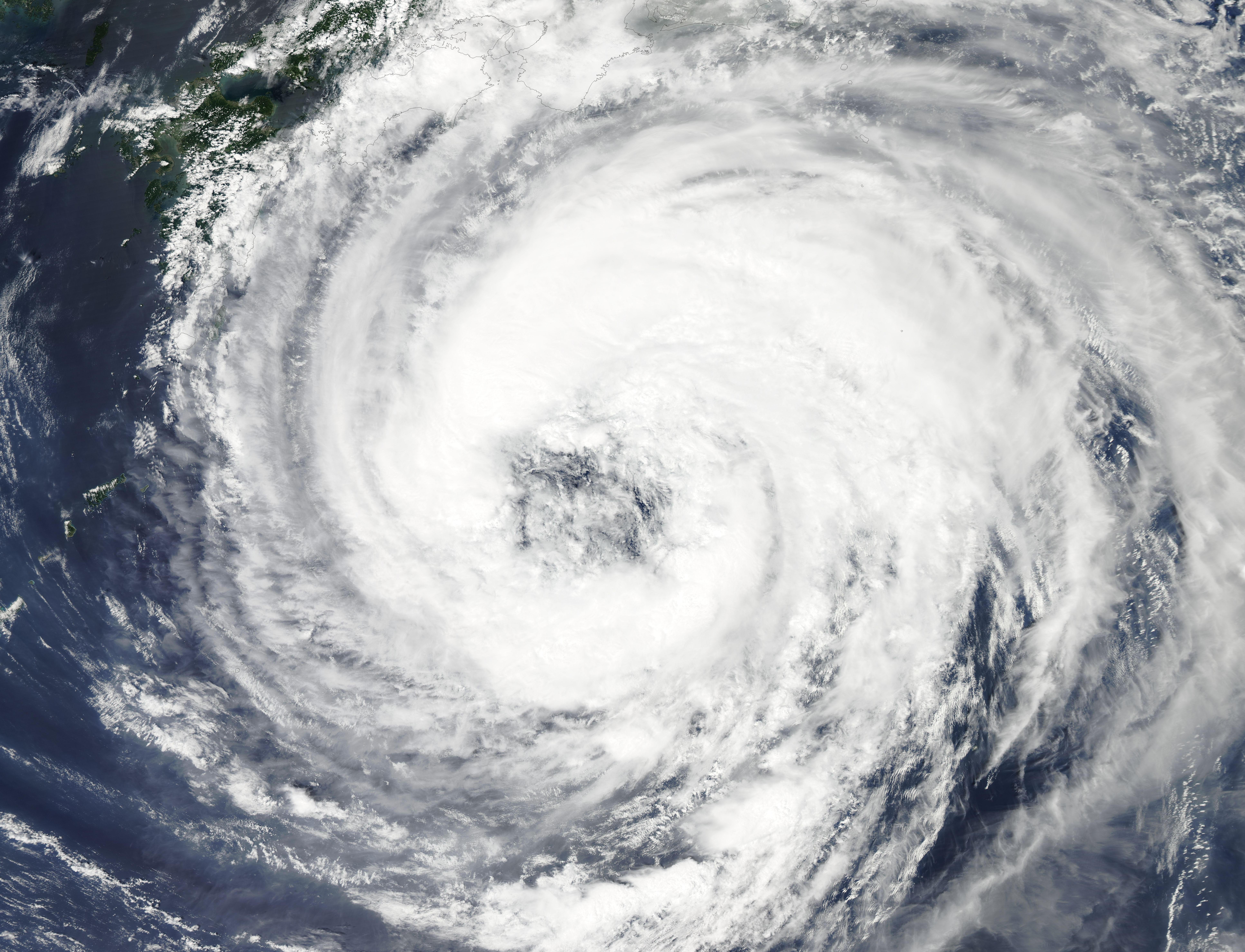 NASA - Hurricane Season 2011: Tropical Storm Talas ...