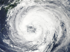 MODIS image of Tropical Storm Talas