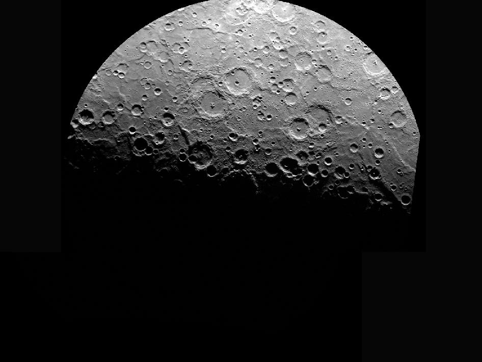Image from Orbit of Mercury: South Pole - Take 71