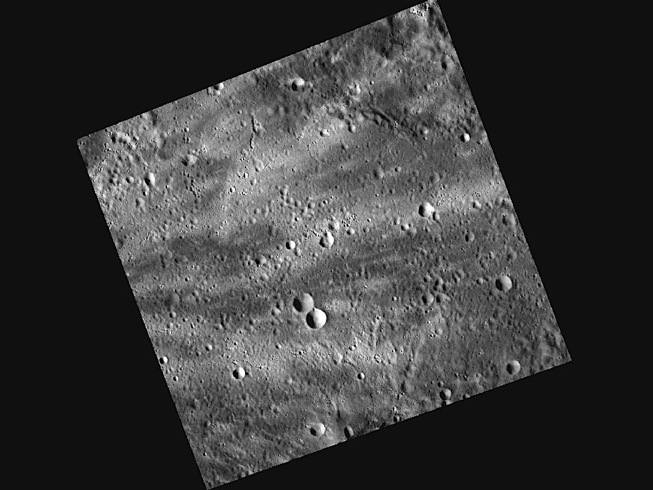 Image from Orbit of Mercury: Catching Some Rays on Mercury