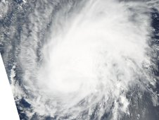 This mage of Katia was taken by MODIS at 12:25 p.m. AST on September 2.