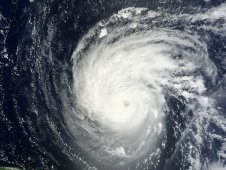 MODIS satellite captured this visible image of Hurricane Katia on Sept. 4 at 10:45 a.m. EDT