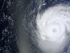 MODIS captured this visible image of Hurricane Katia on Sept. 5 at 11:30 a.m. EDT.