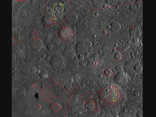 Beagle Rupes, One of the Largest Scarps on Mercury