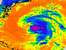AIRS image of Katia