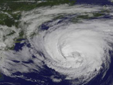 GOES image of Katia from Sept. 9, 2011