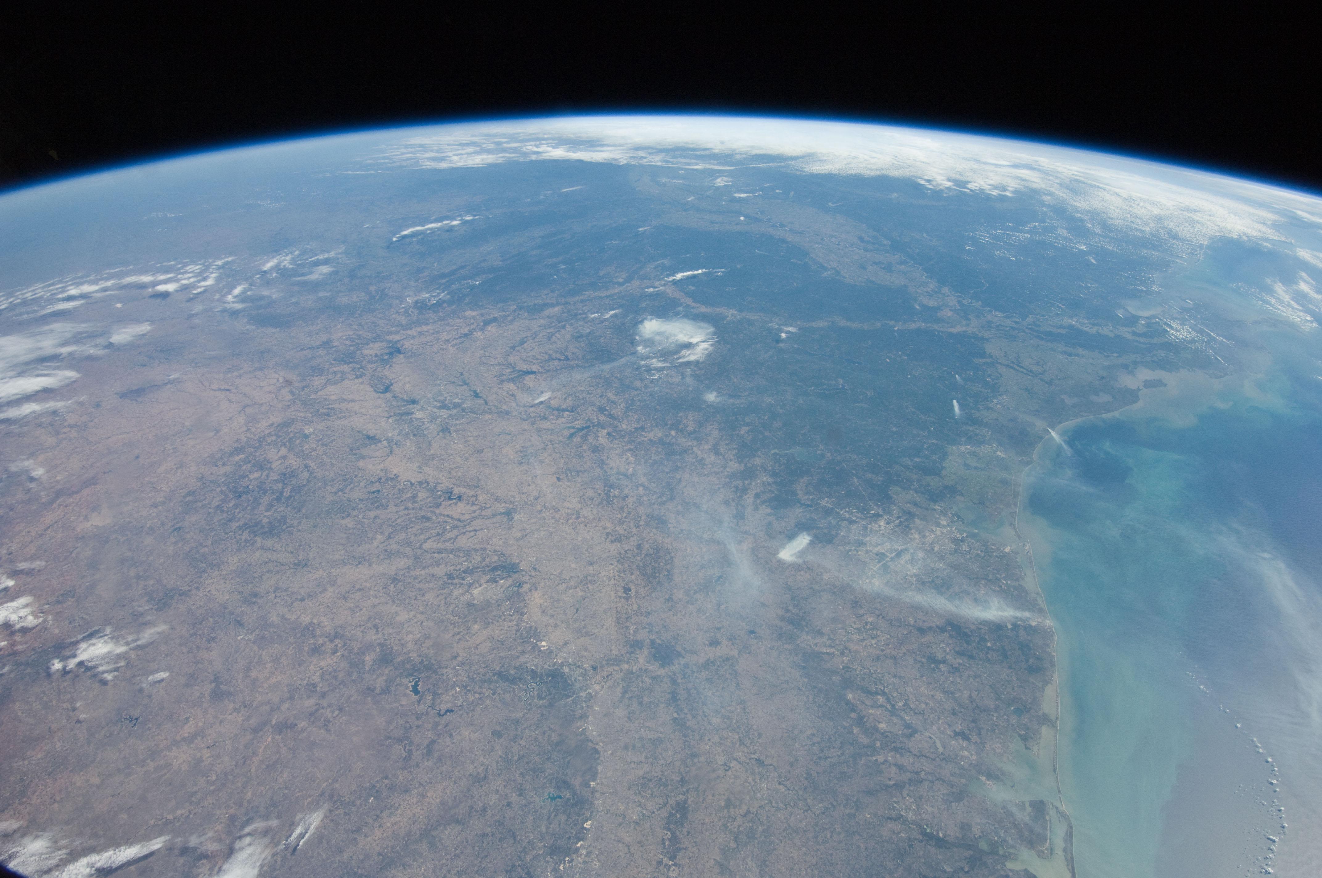 NASA - Panoramic View of Texas