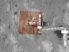Memorial image taken on Mars on Sept. 11, 2011