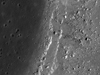 West side edges of Hadley Rille, near Apollo 15 landing site