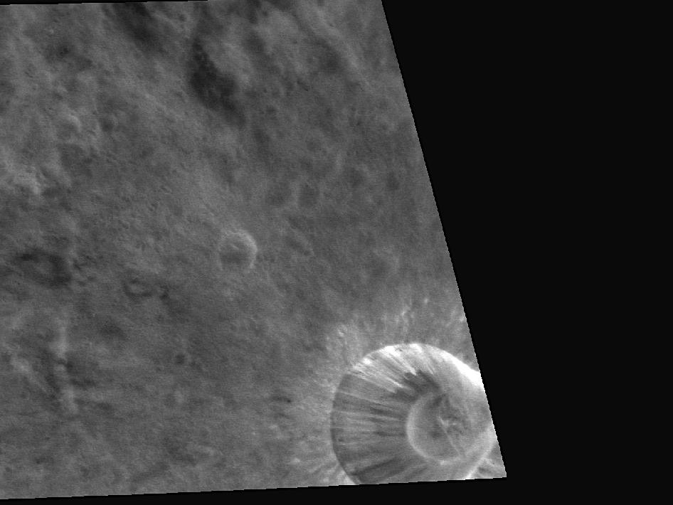 Image from Orbit of Mercury: To Be Young and Rayed on Mercury