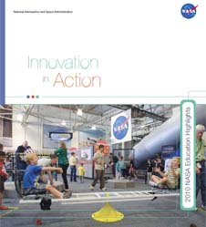 Cover page of 2010 NASA Education Highlights