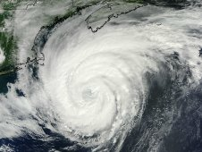 This image of Hurricane Katia was taken from the MODIS instrument on NASA's Terra satellite on Sept. 9 at 11 a.m. EDT