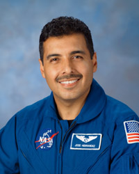 Jose Hernandez, Mission Specialist. Photo credit: NASA/Johnson Space Center.