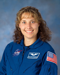 Dottie Metcalf-Lindenburger, Mission Specialist-Educator. Photo credit: NASA/Johnson Space Center.