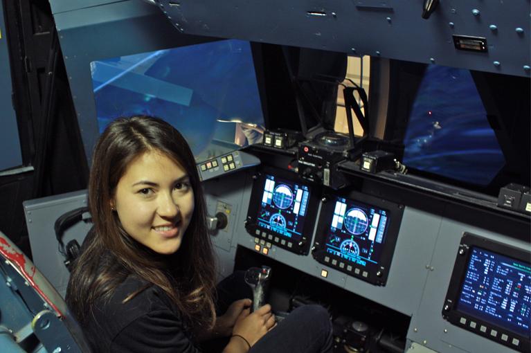 Simulation Nasa Simulator at Nasa Ames'
