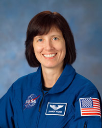 Shannon Walker, Mission Specialist. Photo credit: NASA/Johnson Space Center.