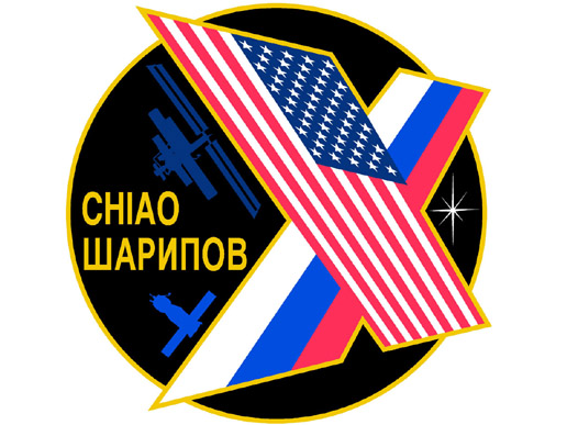 Expedition 10 crew patch. Photo credit: NASA.