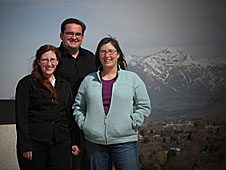 AmyJo Proctor, Ron Proctor and Stacy Palen