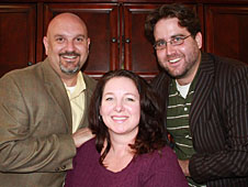 Tim Slater, Stephanie Slater and Dan Lyons