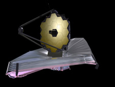 Artist's concept of the James Webb Space Telescope
