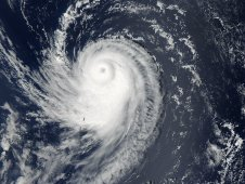 This image of Typhoon Sonca was captured on Sept. 18 at 03:20 UTC (Sept. 17 at 11:20 p.m. EDT)