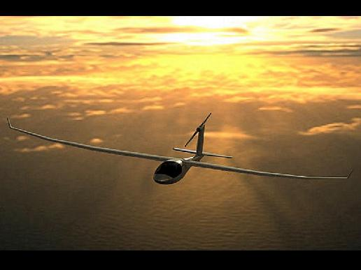 The e-Genius electric aircraft
