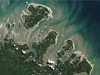 Landsat 5 image of barrier islands off the coast of Brazil