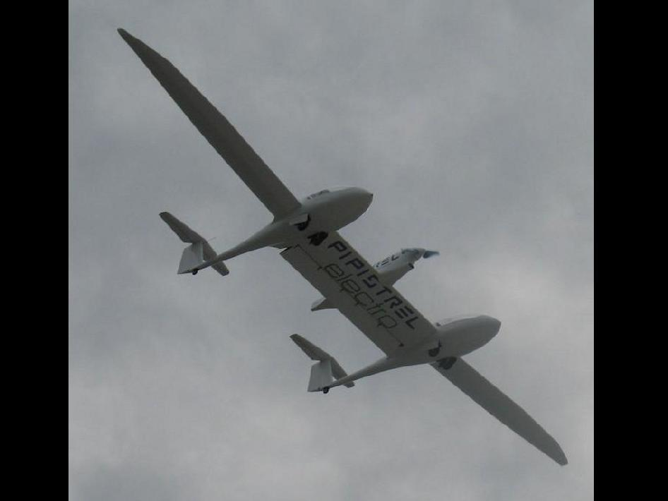 Image of the Taurus G4 in flight