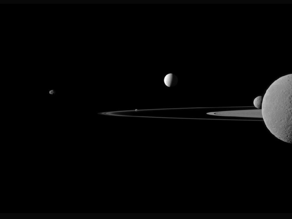 Saturn's moons