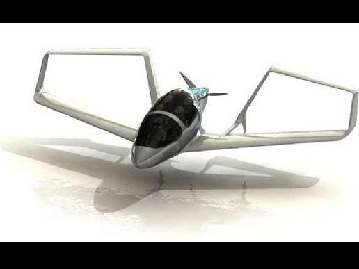 Conceptual image of the Synergy airplane