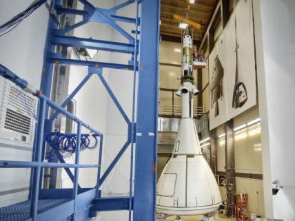 Orion Prepares for Next Round of Acoustic Testing